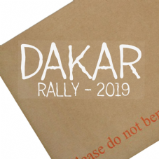 Dakar Rally 2019-Car,Buggy,Dirtbike,Motorbike,Motorcycle,Truck,Van,Vehicle,Sign,Sticker,January,Peru